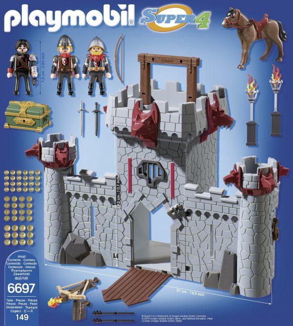 Playmobil 6697 Κάστρο Μαύρου Βαρόνου