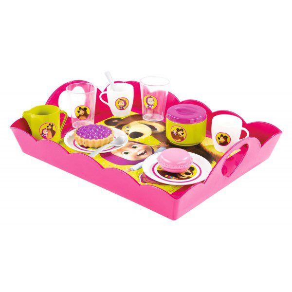 SMOBY MASHA TEA TIME TRAY 310528