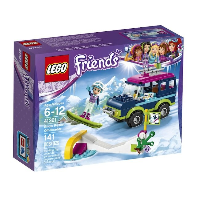 Lego Friends 41321 Snow Resort Off Roader King Of Toys
