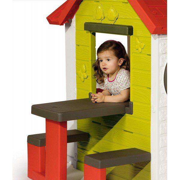 SMOBY MY HOUSE PLAYHOUSE & PIC-NIC TABLE 7/810401